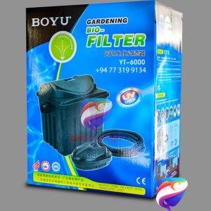 BOYU YT 6000 Garden pond UV filter