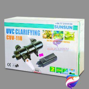 SUNSUN CUV 118 UVC Clarifying UV Light
